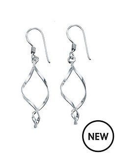 the-love-silver-collection-sterling-silver-small-open-twist-drop-earring