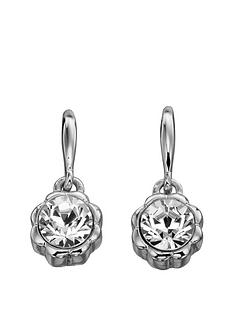 fiorelli-jewellery-costume-imitation-rhodium-swarovski-flower-bead-earrings