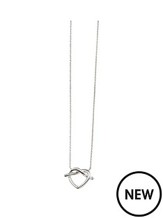 the-love-silver-collection-sterling-silver-knot-heart-pendant-and-earring-set