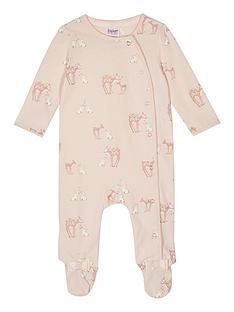 baker-by-ted-baker-baby-girls039-pink-deer-print-sleepsuit