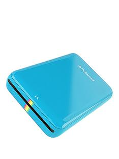 polaroid-zip-instant-printer-blue-with-zink-zero-ink-printing-technology-and-optional-50-pack-2x3-premium-zink-paper