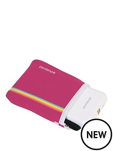 polaroid-neoprene-case-for-polaroid-zip-instant-printernbsp--pink