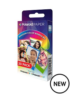 polaroid-rainbow-border-2x3-premium-zink-paper-20-pack