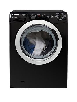 Candy   Grand'O Vita Gvs169Dc3B 9Kg Load, 1600 Spin Washing Machine With Smart Touch - Black/Chrome