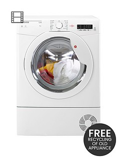 hoover-link-hlc8lg-8kgnbspload-condenser-tumble-dryer-with-one-touch-white