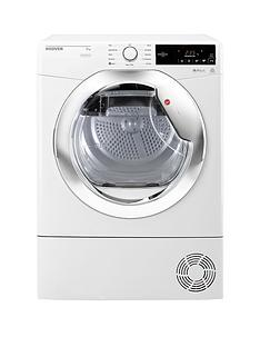 hoover-one-touch-dxc9tce-9kg-load-condenser-tumble-dryer-whitechrome