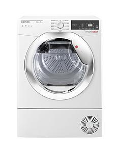 hoover-one-touch-dxh10a2tce-10kg-loadnbspheat-pump-tumble-dryer-whitechrome