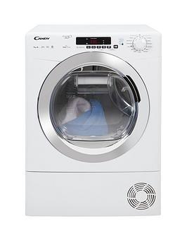 candy-grando-vitanbspgvsh9a2dce-9kgnbsploadnbspheatnbsppump-sensor-tumble-dryer-with-smart-touch-whitechrome
