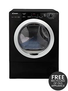 candy-grand-o-vitanbspgvsh9a2dceb-9kg-loadnbspheatnbsppump-sensor-tumble-dryer-with-smart-touch-blackchrome
