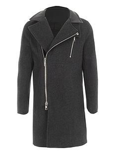 river-island-boys-grey-wool-blend-funnel-neck-coat