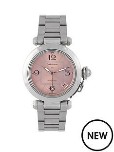 cartier-cartier-pre-owned-midsize-steel-pasha-watch-pink-dial-ref-2324