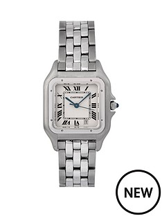 cartier-cartier-pre-owned-gents-steel-panthere-watch-off-white-dial-reference-1310