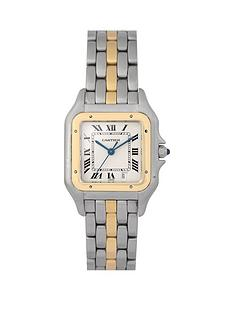 cartier-cartier-pre-owned-gents-bimetal-panthere-1-row-watch-off-white-dial-ref-183949