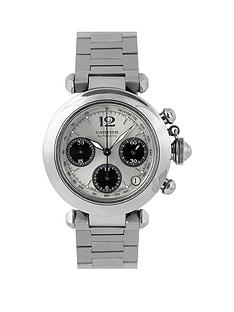 cartier-cartier-pre-owned-gents-steel-pasha-chronograph-watch-silver-dial-ref-2412