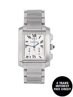 cartier-cartier-pre-owned-gents-steel-tank-francaise-chronoflex-watch-ref-2303