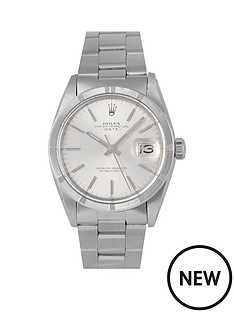 rolex-rolex-pre-owned-oyster-perpetual-date-watch-silver-dial-ref-1501