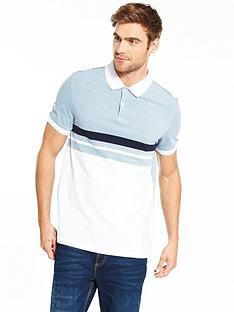 v-by-very-short-sleev-block-stripe-jersey-polo