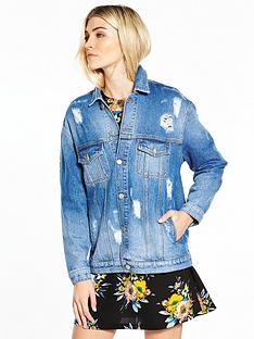 v-by-very-longer-length-distressed-denim-jacket