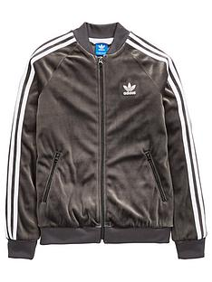 adidas-originals-adidas-originals-older-girls-velour-superstar-track-top