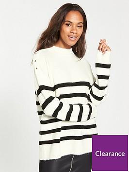 v-by-very-stripe-shoulder-detail-turtleneck-jumper
