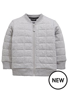 mini-v-by-very-nbspboys-quilted-fashion-zip-sweat