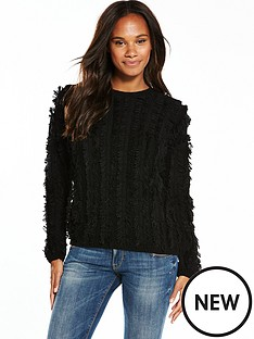 v-by-very-shaggy-fringe-jumper-black