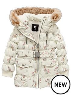 mini-v-by-very-girls-unicorn-belted-padded-coat