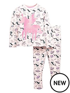 mini-v-by-very-nbspgirls-glitter-unicorn-pyjama