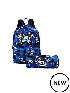 paul-frank-blue-print-backpack-and-pencil-case-set