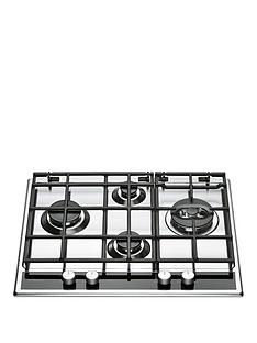 hotpoint-pkl641d2ixh-60cmnbspbuilt-in-gas-hob-with-fsd-stainless-steel