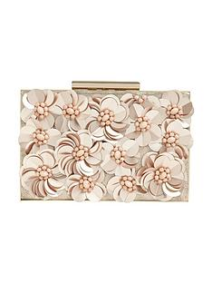 phase-eight-flora-rose-gold-box-clutch