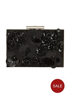 phase-eight-flora-black-box-clutch