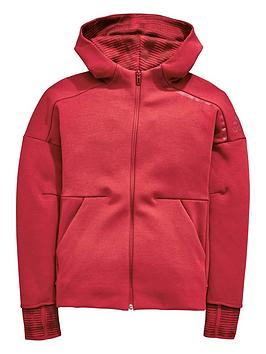 adidas-adidas-older-girl-zne-pulse-full-zip-hoody