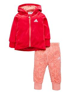 adidas-baby-girl-velour-full-zip-jog-set