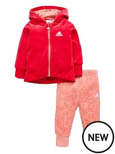 adidas-baby-girl-velour-full-zip-jog-set