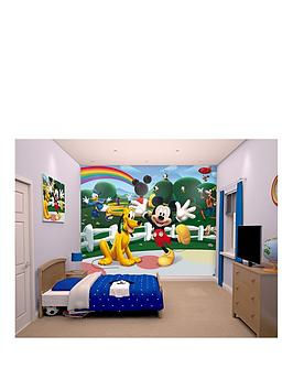 Mickey Mouse Clubhouse Walltastic Mickey Mouse Wall Mural Part 49