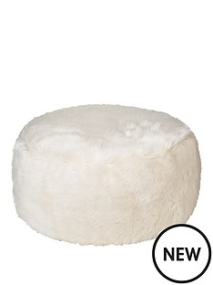 kaikoo-faux-fur-foot-stool