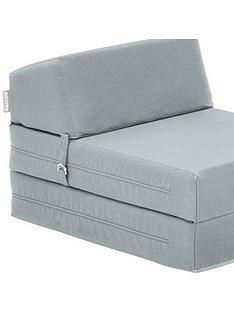 kaikoo-plain-single-folding-chair-bed