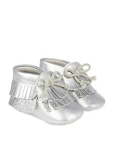 monsoon-baby-metallic-tassel-bootie
