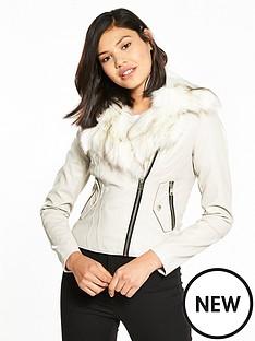 river-island-river-island-pu-biker-jacket-with-faux-fur-collar