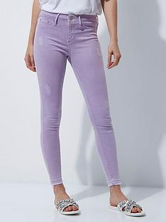 river-island-lilac-skinny-jeans