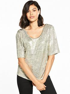 river-island-metallic-wrap-t-shirt