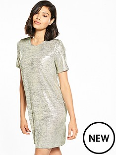 river-island-metallic-t-shirt-dress