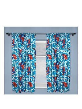 marvel-ultimate-spiderman-pop-art-pleated-curtains