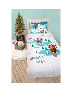 paw-patrol-paw-patrol-christmas-single-duvet-cover-set