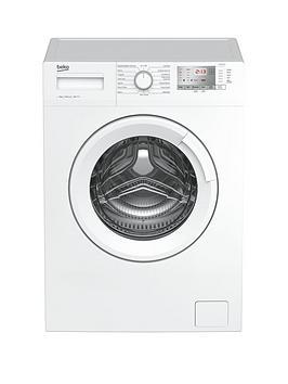 Beko   Wtg841M2W 8Kg Load, 1400 Spin Washing Machine - White