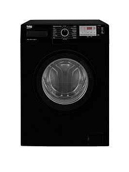 Beko   Wtg841M2B 8Kg Load, 1400 Spin Washing Machine - Black