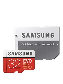 Samsung Samsung 32Gb Evo Plus Micro Sd Card With Adapter Picture