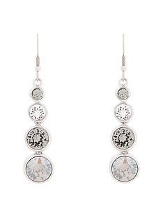 karen-millen-silver-colour-plated-swarovskinbspearrings