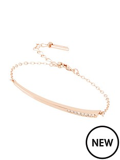 karen-millen-rose-gold-colour-plated-swa